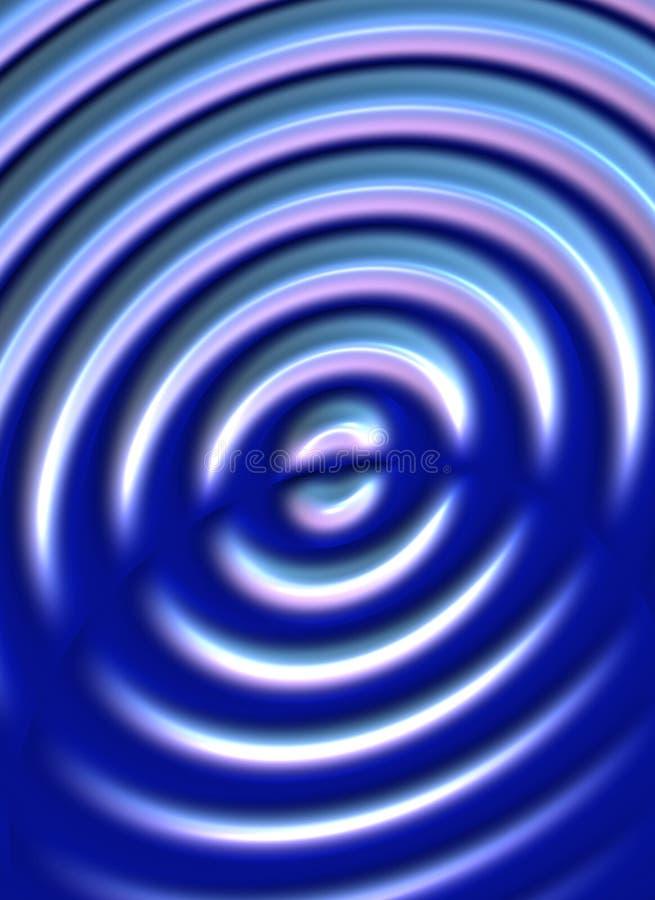 flyttande waves vektor illustrationer