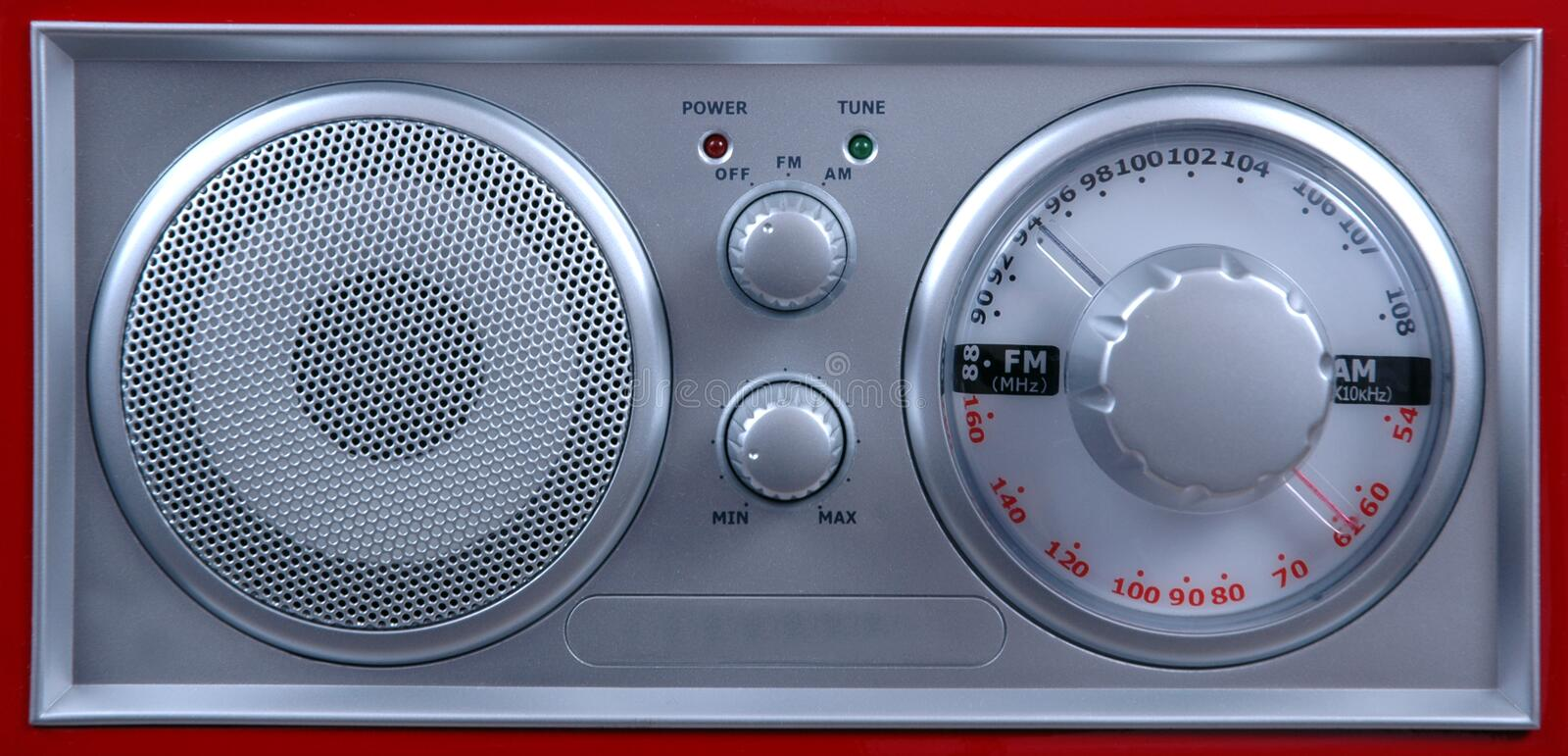 FM Radio. royalty free stock image