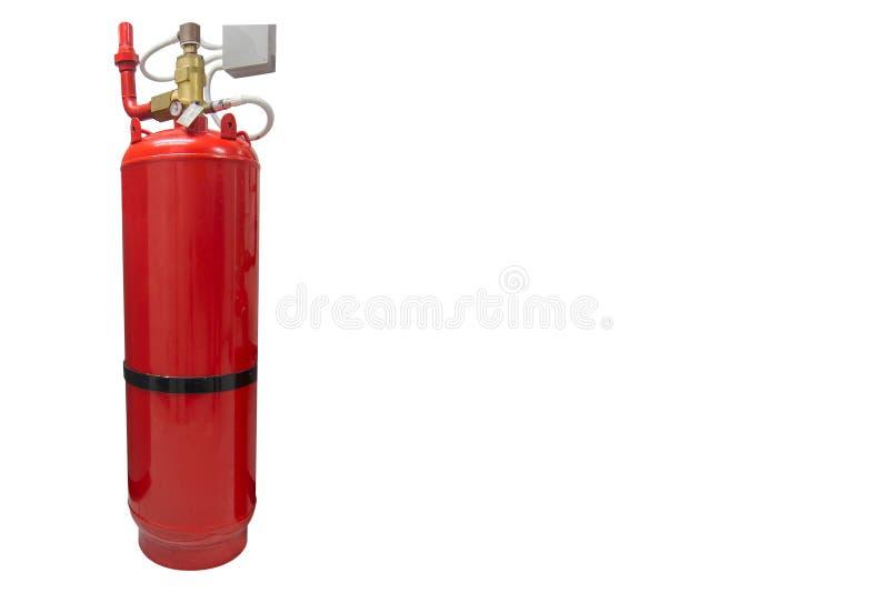 FM-200 systemów stłumienie, FM200 gazu wylew system, Benzynowy stłumienie systemu zdjęcia stock