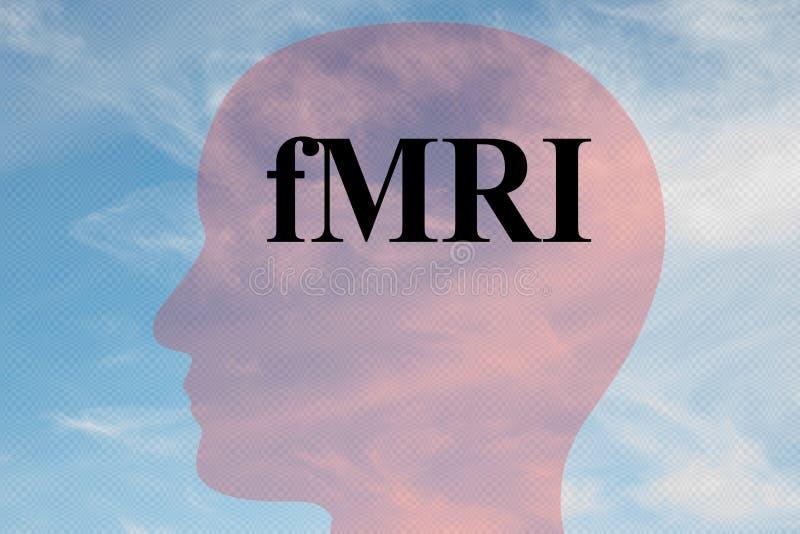 fMRI - concetto tecnologico illustrazione di stock