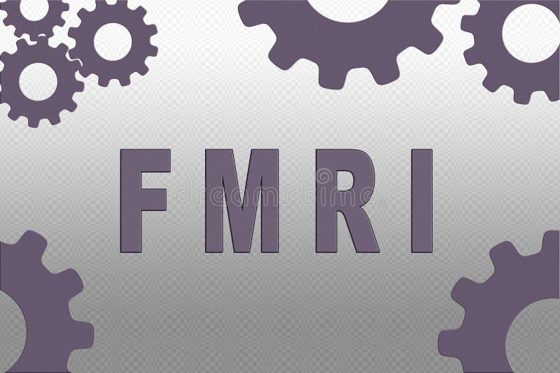 fMRI - concetto tecnologico royalty illustrazione gratis