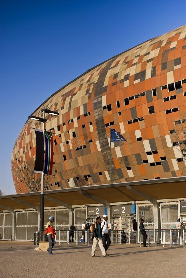 FNB Stadium - General Exterior View royalty free stock photo