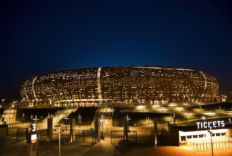 FNB Stadium - National Stadium (Soccer City) stock photo