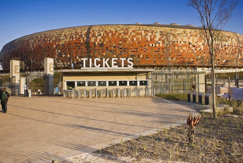 FNB Stadium - Ticket Booth royalty free stock image