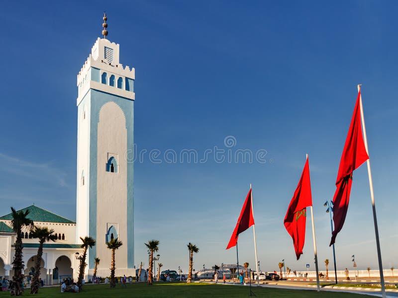 Fnideq marokko stockbild
