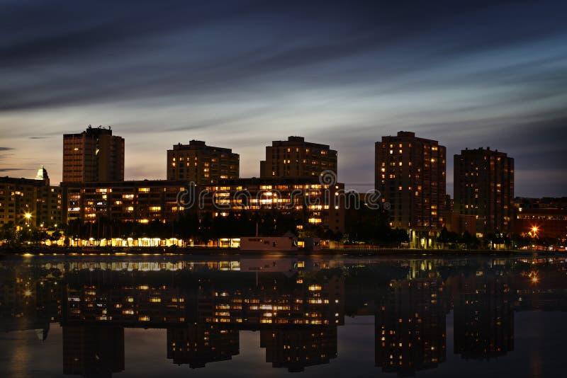 Fnland: Distrito em Helsínquia imagens de stock