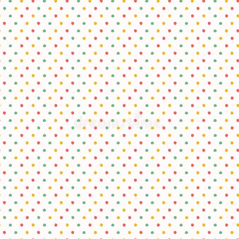 Fnoskiga cirklar f?r abstrakt organiskt snitt S?ml?s bakgrund f?r vektormodell Utdragen texturerad stil f?r hand Prickbanddiagram vektor illustrationer