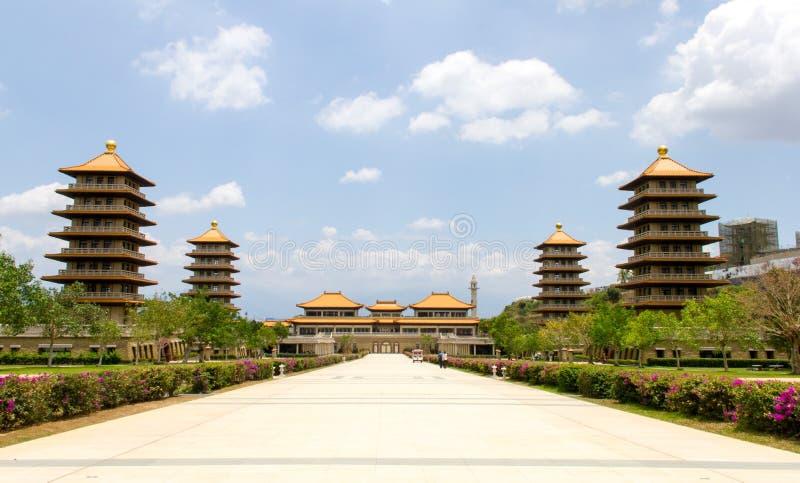 FO Guang Shan Monastery, Kaohsiung, Taiwan imagens de stock