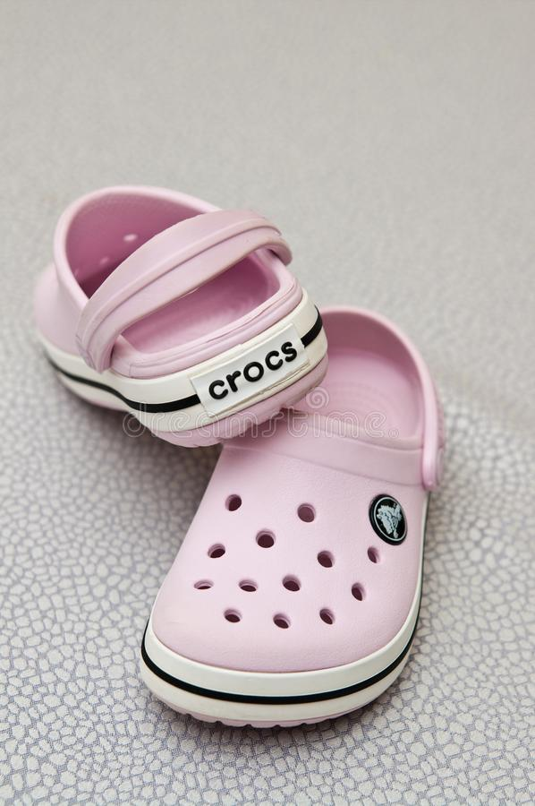 Free Foam Clog Crocs Children Shoes Royalty Free Stock Images - 140879099