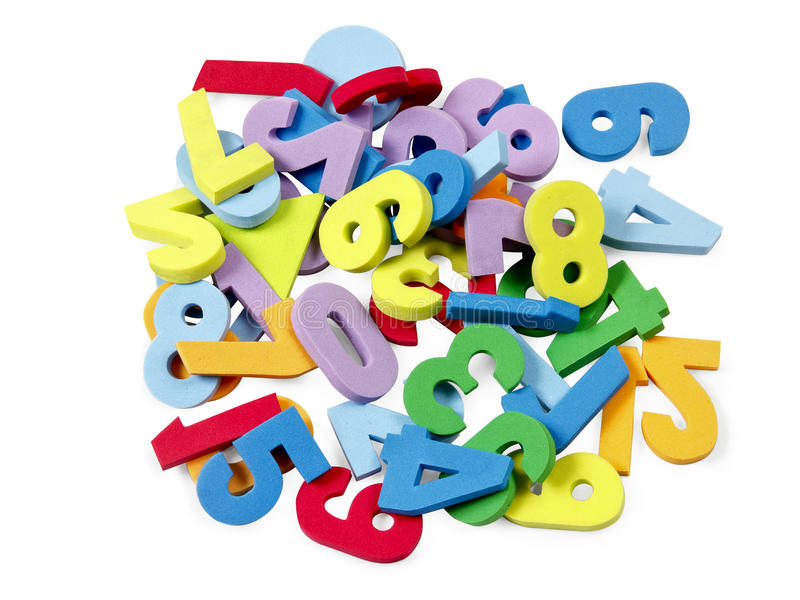 Download Foam numbers stock photo. Image of game, numbers, toys - 25340094