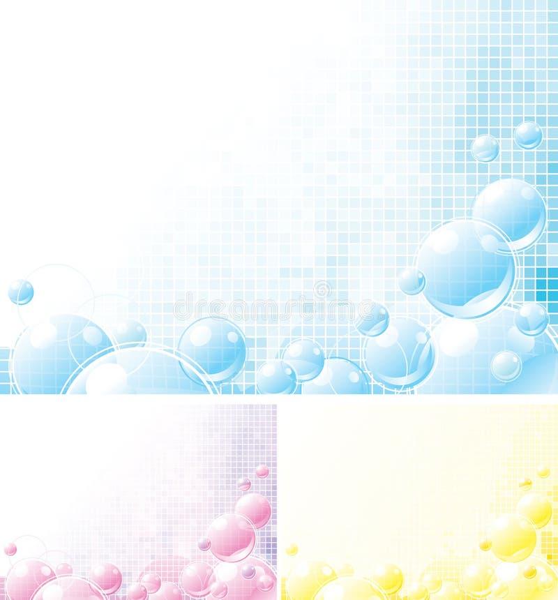 Download Foamy backgrounds stock vector. Image of lightness, design - 22606883