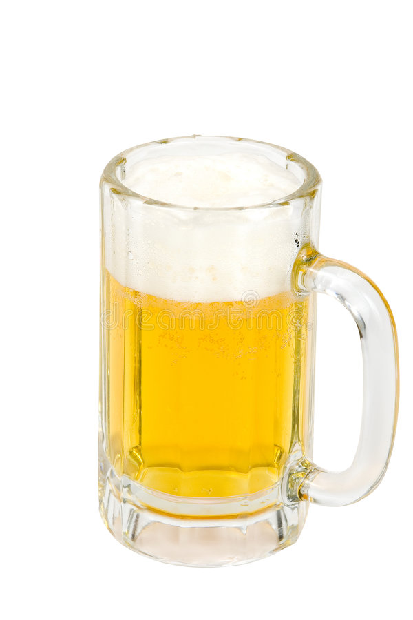 Download Foamy Ice Cold Beer Stock Photo - Image: 1721400