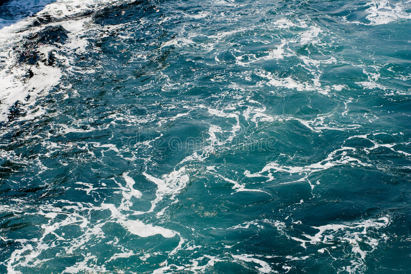 Foamy sea. Taken golden horn royalty free stock photos