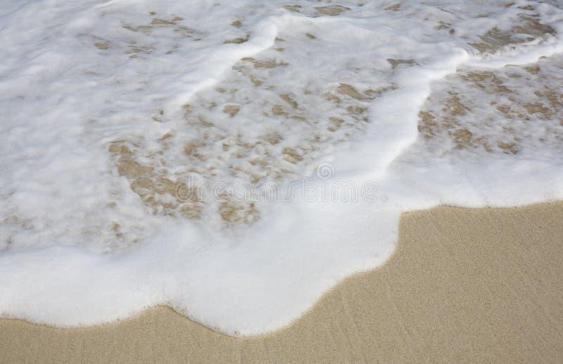 foamy waves fotografering för bildbyråer