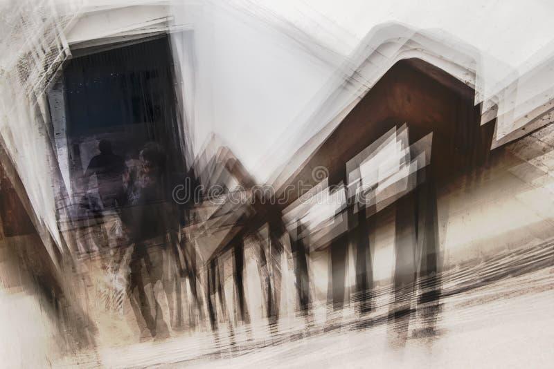Fobi av trappa arkivbild