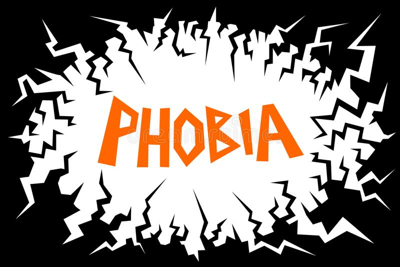 fobia ilustracji