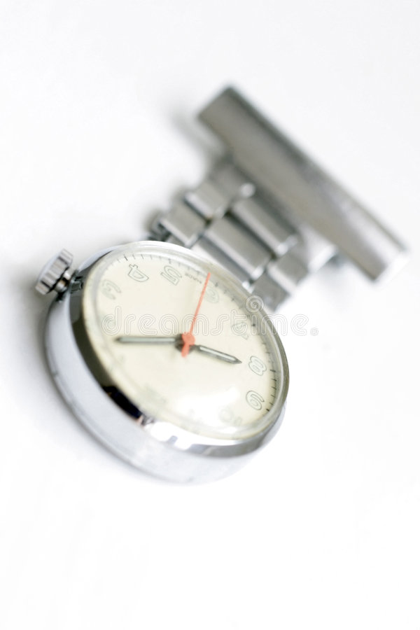 fobsjuksköterskawatch arkivfoto
