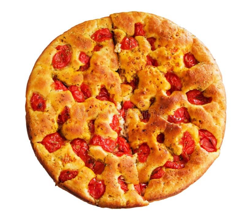 Focaccia. Alimento italiano. foto de stock
