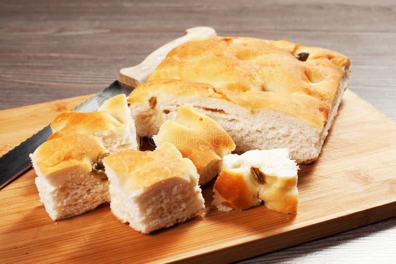 Focaccia Bread Royalty Free Stock Photo
