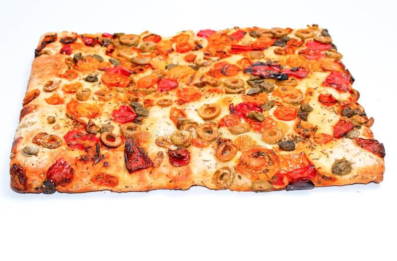focaccia square slice stock images