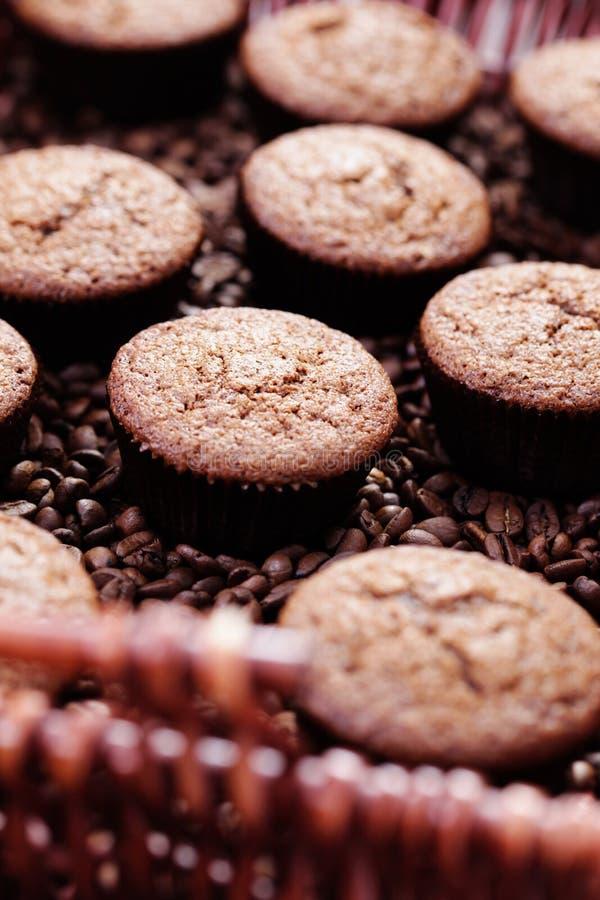 Focaccine del caffè espresso immagine stock libera da diritti