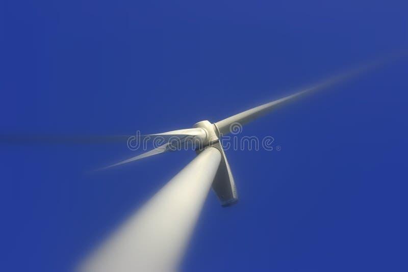Foco de la turbina de viento imágenes de archivo libres de regalías
