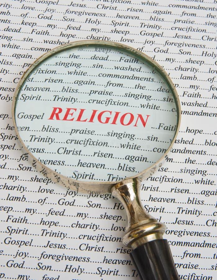 Foco na religião. imagem de stock royalty free