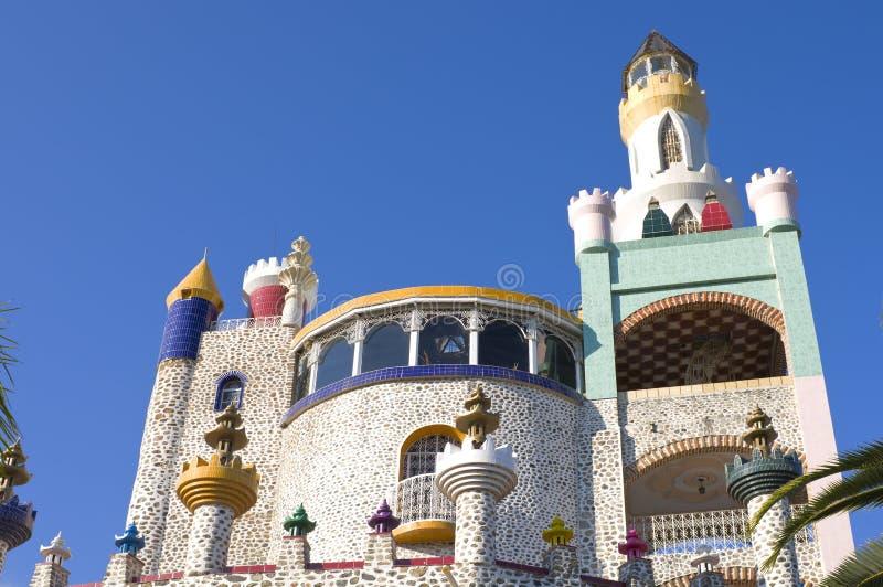 Download Foco Tonal Castle stock photo. Image of turrets, spire - 24347988