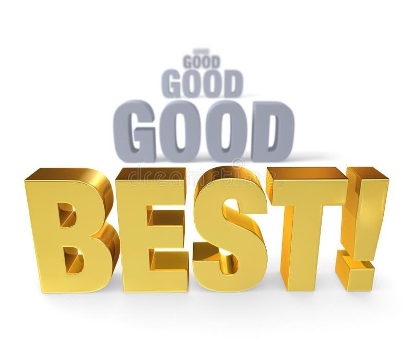 Download Focus On The Best stock illustration. Illustration of better - 31528415