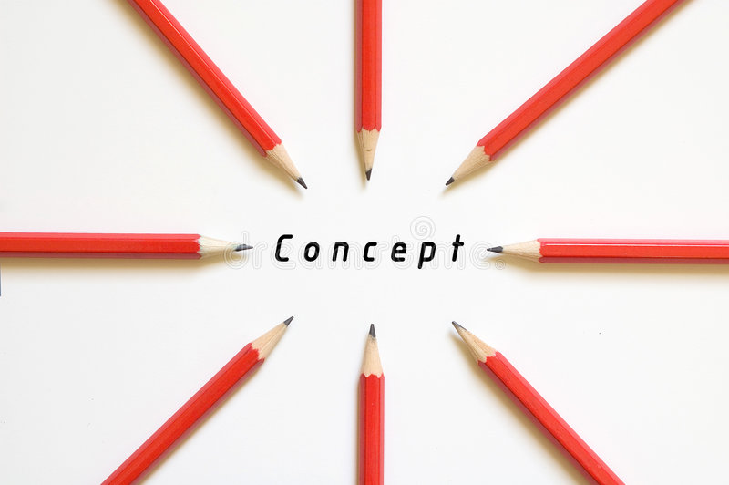 Focus on concept stock images