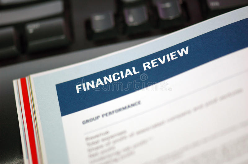 Download Focus On Financial Review stock image. Image of figures - 16267129