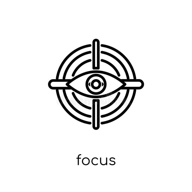Focus icon from collection. vector illustration