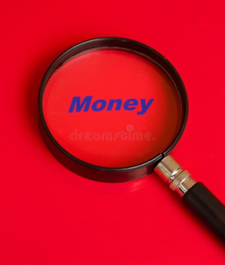Focus on money. stock photography
