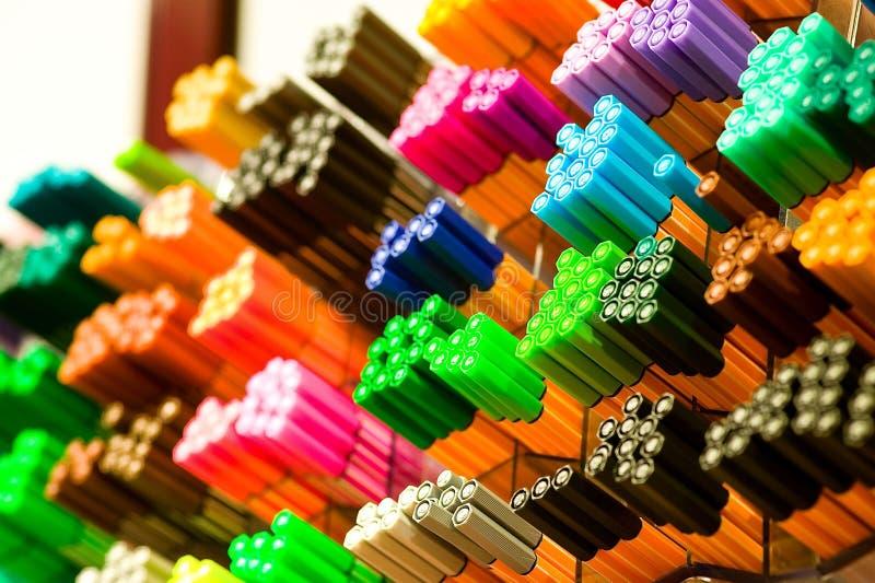 Focus Photography Of Colored Pens Free Public Domain Cc0 Image