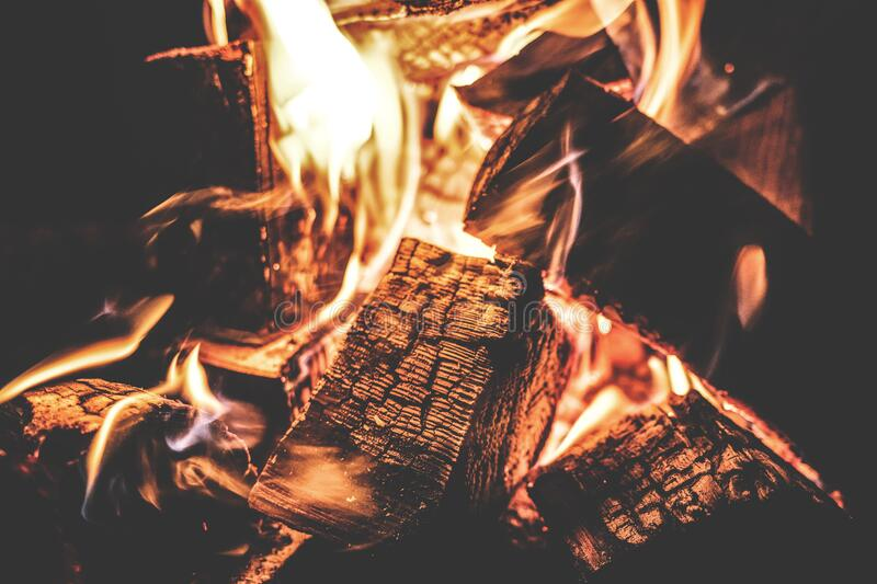 Focus Photography Of A Ignited Firewood Free Public Domain Cc0 Image