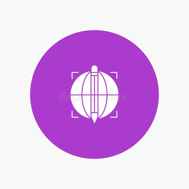 Focus, Target, Globe, Success royalty free illustration