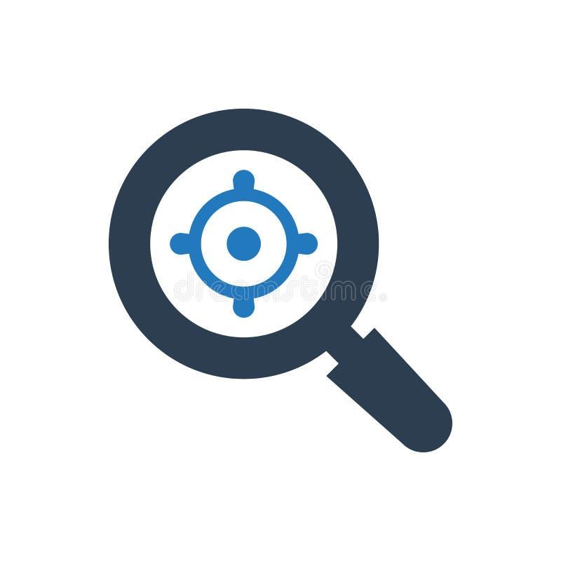 Focus target icon stock illustration
