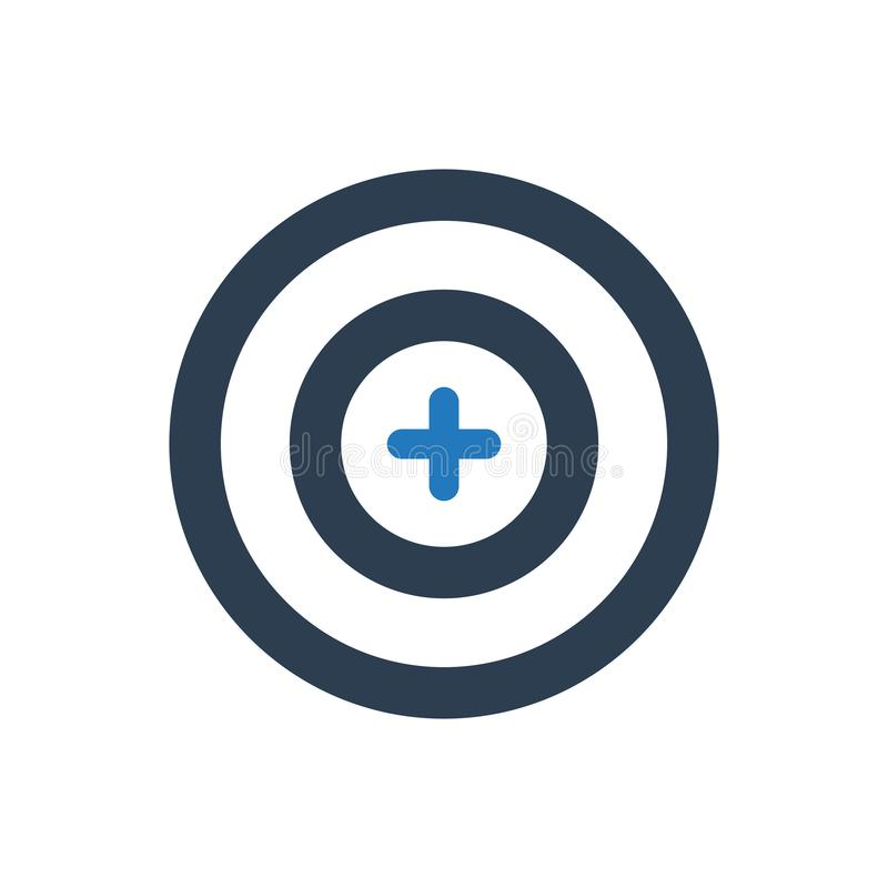 Focus, Target Icon vector illustration