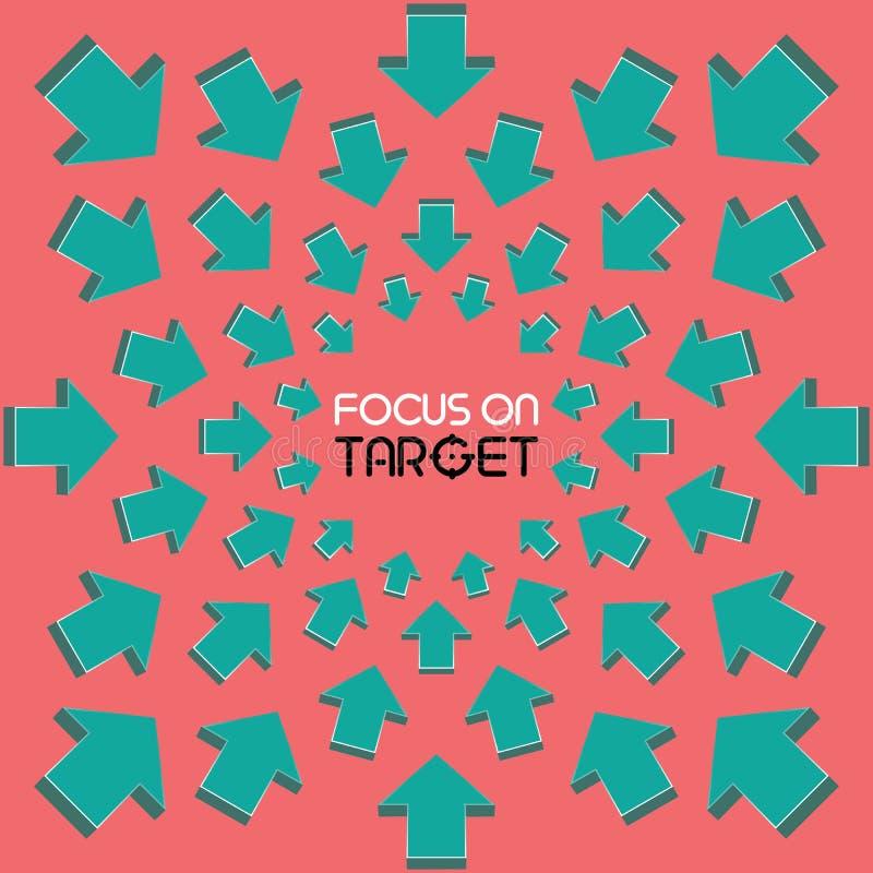 Focus on Target stock image