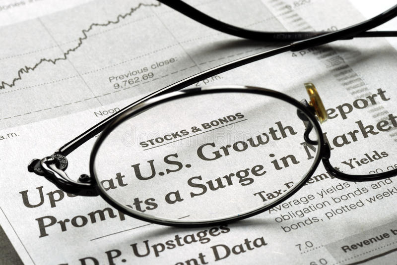 Download Focus On U.S. Growth In The Economy Stock Photo - Image: 11636138