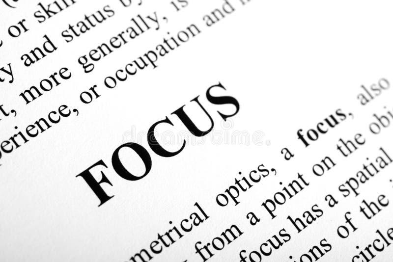 Focus royalty free stock image