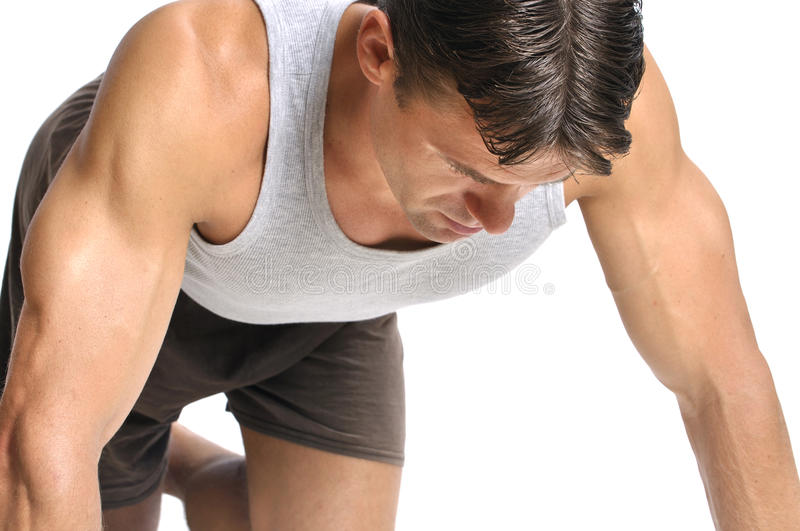 Download Focus during workout stock photo. Image of strong, fitness - 27153424