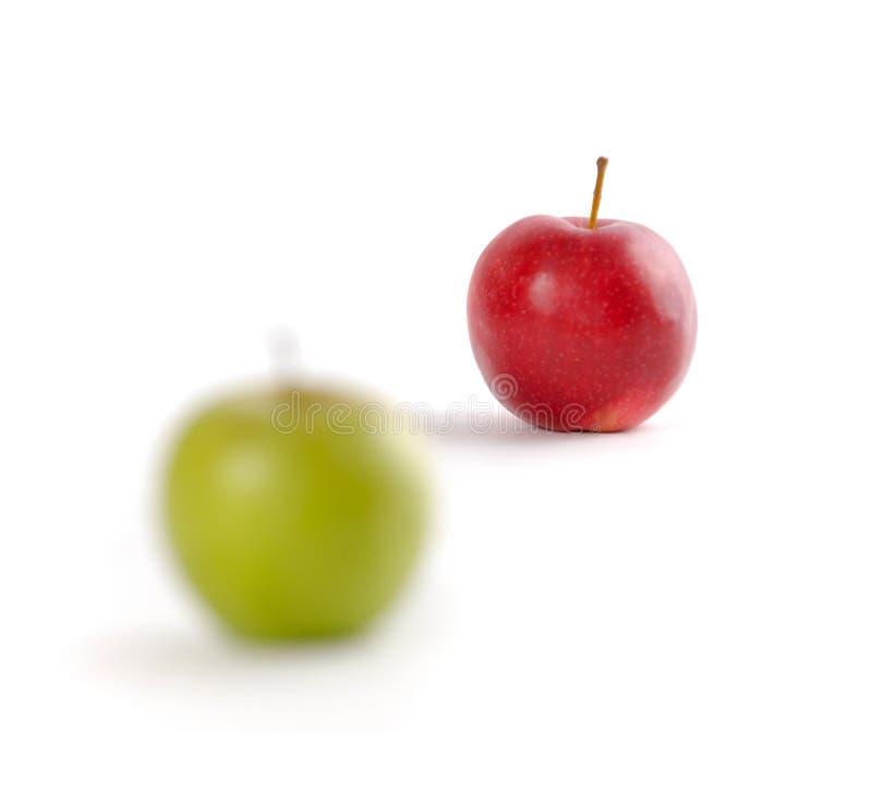Focusing On Apples stock photo