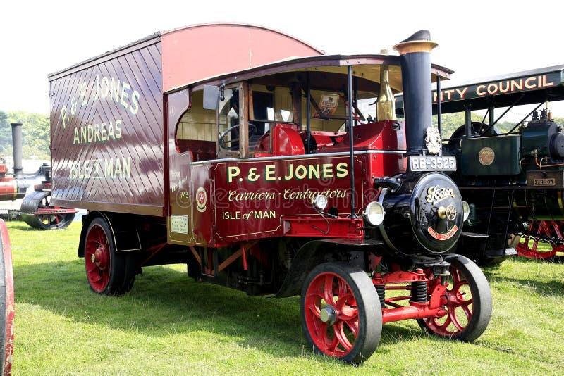 Foden-Dampflastwagen 1931 stockfoto