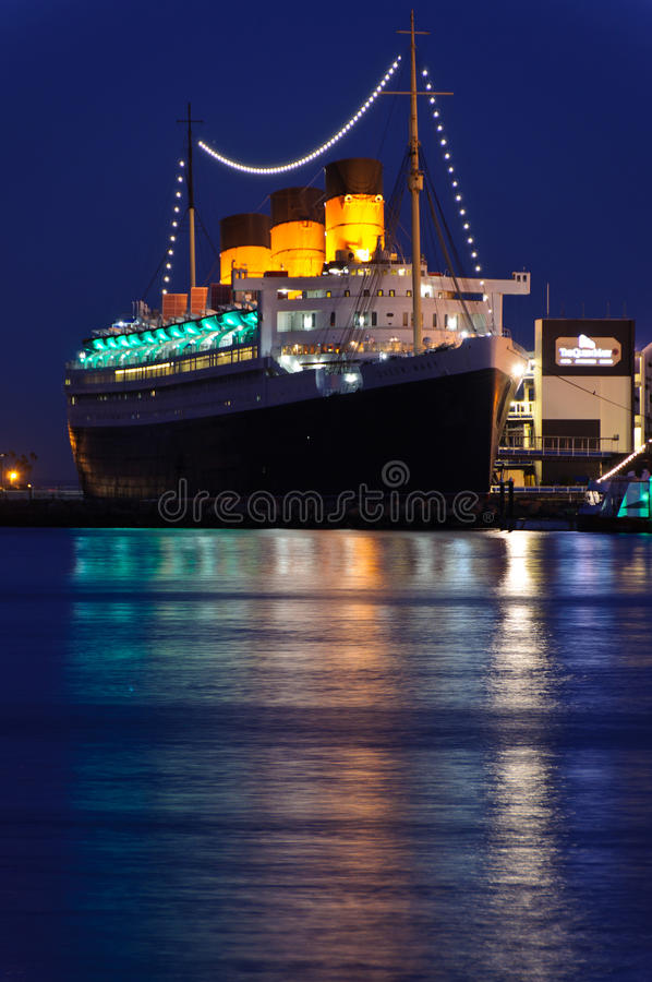 Download Fodera Di Oceano Di Queen Mary Fotografia Stock Editoriale - Immagine di lungo, hotel: 18313998