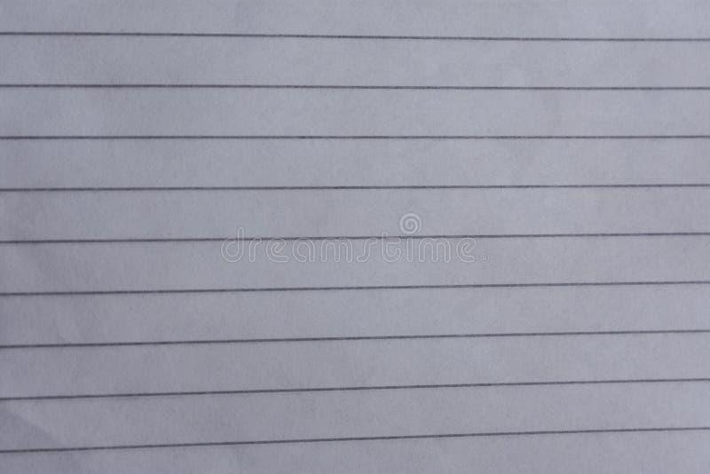 fodrat anteckningsbokpapper stock illustrationer