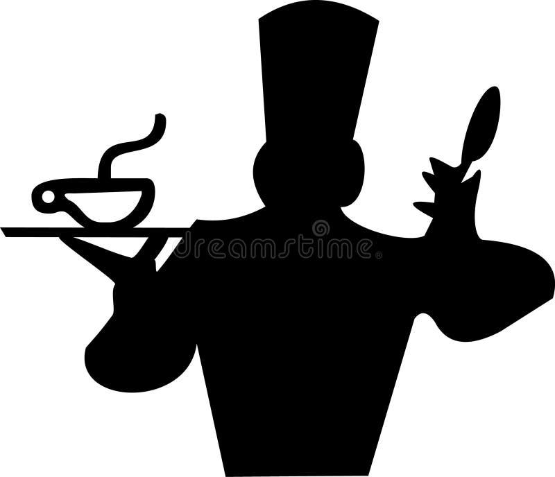 Fogão ilustração royalty free