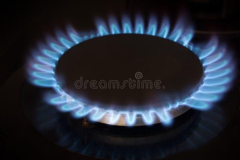 Fogão de gás imagens de stock