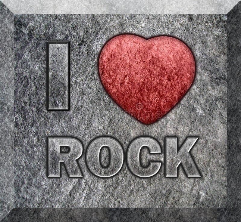 Fogão de pedra com texto imagem de stock royalty free