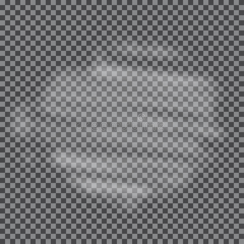 Fog, cloud, smoke transparent special effect. vector illustration